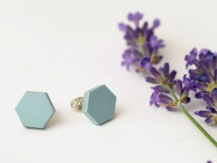 honeycomb cornflower blue