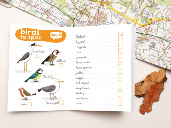 birdwatching notebook book