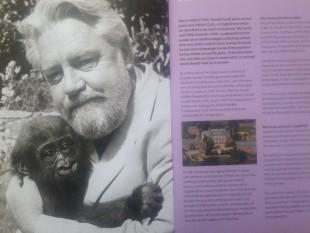 gerald durrell with gorilla