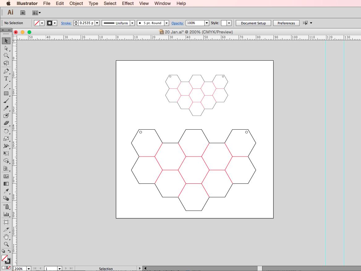 using illustrator vector