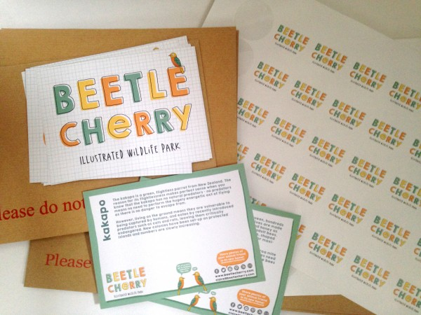 beetle cherry packaging