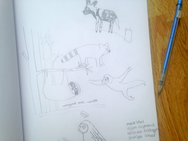 animal illustration beetlecherry
